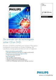 DW4S4T05F/10 Philips DVD+RW - Hardware