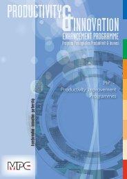 PIP - Productivity Improvement Programmes Program ... - MPC