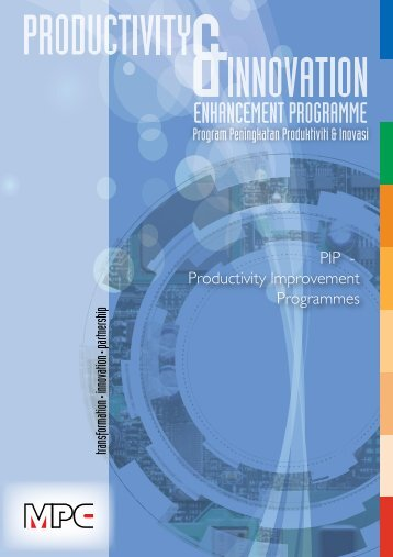 PIP - Productivity Improvement Programmes Program ... - MPC