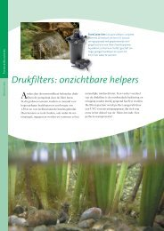 Drukfilters: onzichtbare helpers - Automatic Spraying Systems