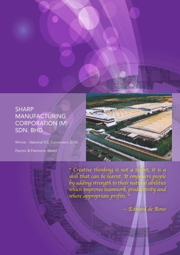 SHARP MANUFACTURING CORPORATION (M) SDN. BHD - MPC