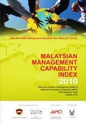 MALAYSIAN MANAGEMENT CAPABILITY INDEX - MPC
