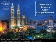 Thierry Geiger Economist World Economic Forum - MPC