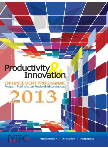 Productivity & Innovation 2013 - MPC
