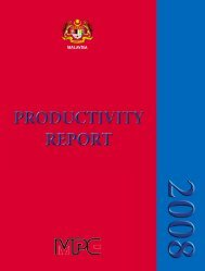 productivity performance of malaysia chapter 1 - MPC