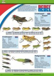 Crickhopper Popper Crickhopper Hellgrammite - Think Big