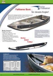 Faltbares Boot… für clevere Angler! - Think Big