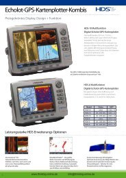 Echolot-GPS-Kartenplotter-Kombis - Think Big