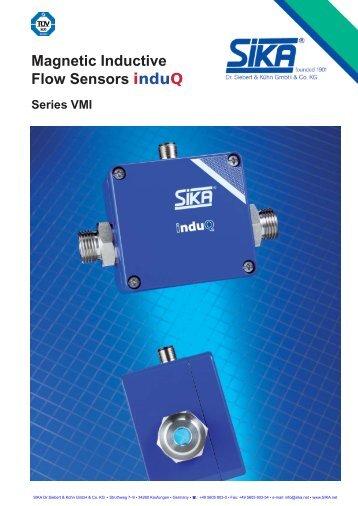 Magnetic Inductive Flow Sensors induQ