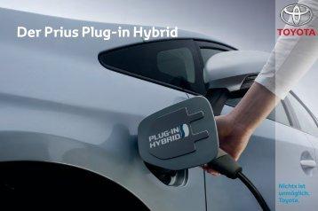 Der Prius Plug-in Hybrid - Toyota Feichtmayr