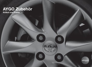 AYGO Zubehör - Toyota Schreib