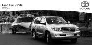 Land Cruiser V8 - Toyota Schreib