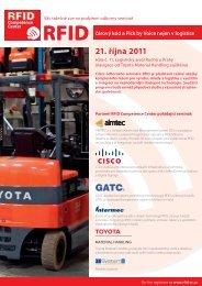 21. října 2011 - Toyota Material Handling CZ s.r.o.