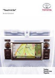 """Touch & Go"" - Toyota-tech.eu"