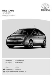 Prius (LHD) - Toyota-tech.eu