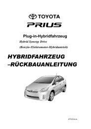 HYBRIDFAHRZEUG –RÜCKBAUANLEITUNG - Toyota-tech.eu