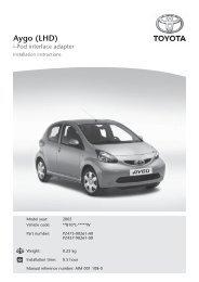 Aygo (LHD) - Toyota-tech.eu