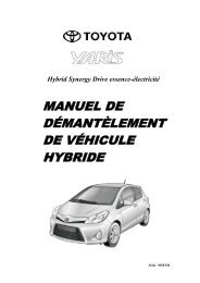 manuel de démantèlement de véhicule hybride - Toyota-tech.eu