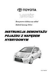 instrukcja demontażu pojazdu z napędem ... - Toyota-tech.eu