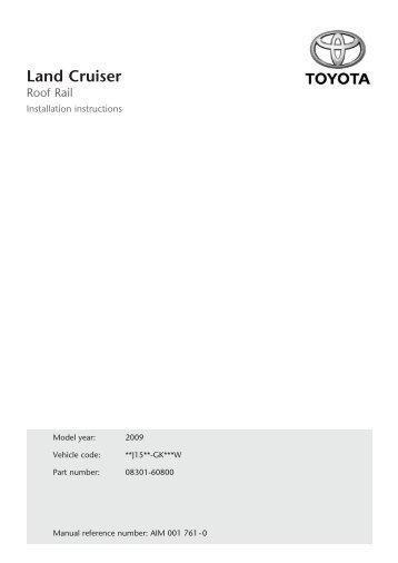 Land Cruiser - Toyota-tech.eu