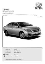 Corolla - Toyota-tech.eu