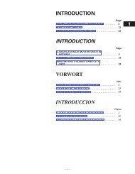 INTRODUCTION INTRODUCTION VORWORT ... - Toyota-tech.eu