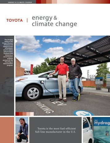 energy & climate change - Toyota