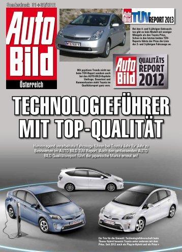 Sonderdruck 31+32/2012 - Toyota