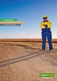 Operational Reporting - Essential Energy