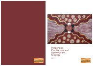 Indigenous Employment and Development Strategy - Essential Energy