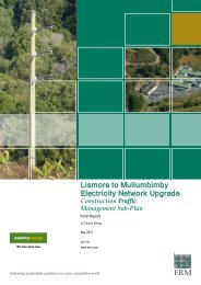 Lismore to Mullumbimby Electricity Network ... - Essential Energy