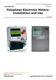 EM5100 Polyphase Electronic Meter - Essential Energy