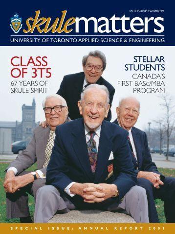 class of 3t5 - Engineering Computing Facility - University of Toronto