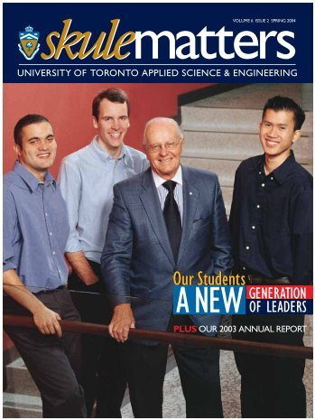 Our Students - Engineering Computing Facility - University of Toronto
