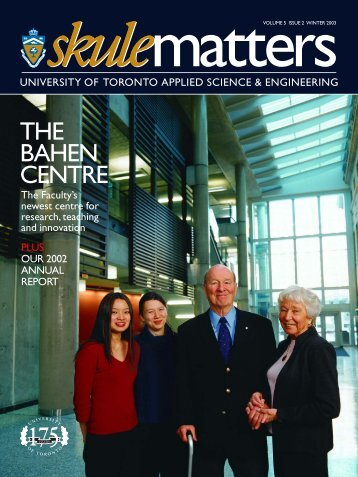 the bahen centre - Engineering Computing Facility - University of ...