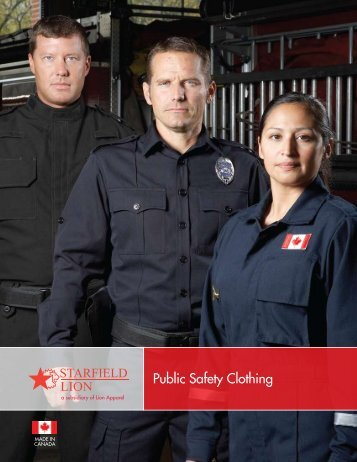 Public Safety Clothing - Lion Apparel