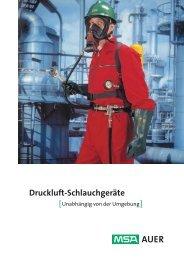 Druckluft-Schlauchgeräte