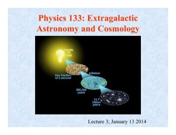 Cosmic Microwave Background - Physics Department, UCSB