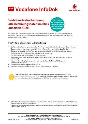 infodok 202 registrierung bei meinvodafone meinmobilfunk und. Black Bedroom Furniture Sets. Home Design Ideas