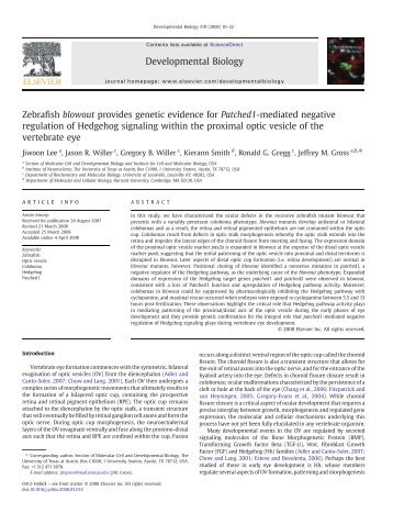 Lee et al., 2008 - Bio Utexas - The University of Texas at Austin