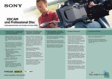 XDCAM und Professional Disc