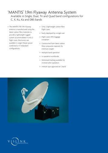 Vislink, MANTIS 1.9m Flyaway Antenna System (0,62 MB)