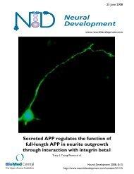 Neural Development - BioMed Central