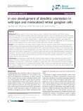 In vivo development of dendritic orientation in wild-type and ... - Page 2