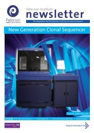 New Generation Clonal Sequencer - The Paterson Institute for ...