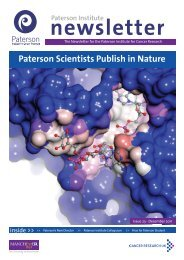 Paterson Scientists Publish in Nature - The Paterson Institute for ...