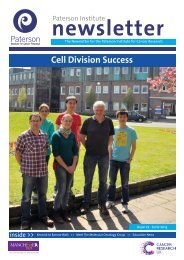 Cell Division Success - The Paterson Institute for Cancer Research ...