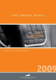 [THE ORANGE BOOK!] - Schockemöhle Sports