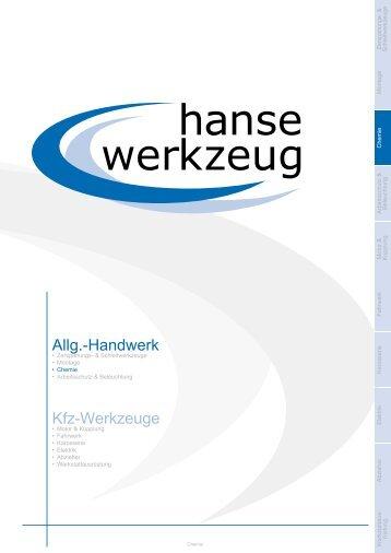 Allg.-Handwerk Kfz-Werkzeuge
