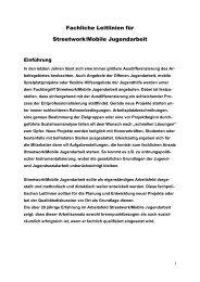 Die Landesarbeitsgemeinschaft Streetwork / Mobile Jugendarbeit in ...